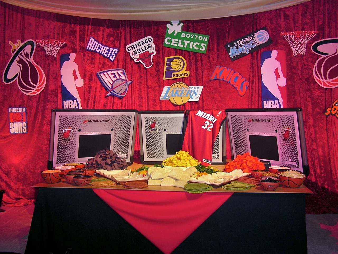 Themed Bar Mitzvah Buffet