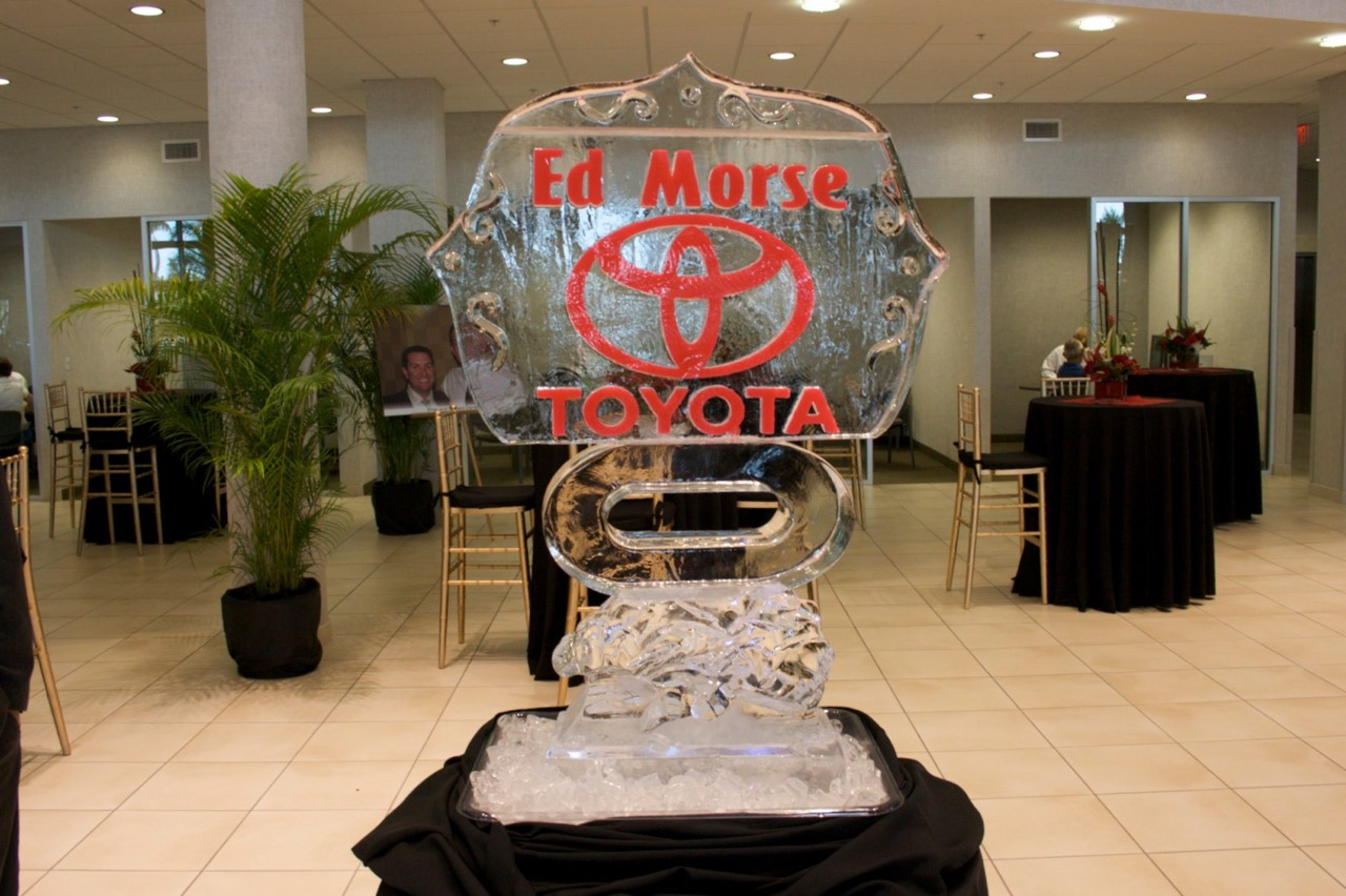 Toyota Ice Sculpture